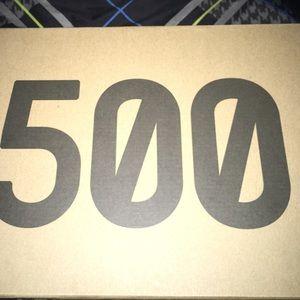 "Yeezy 500 ""bone white"""